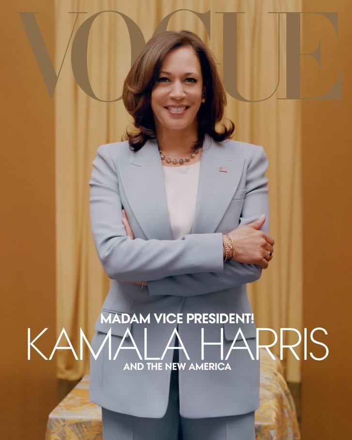 Vogue February Cover Image For Digital Edition